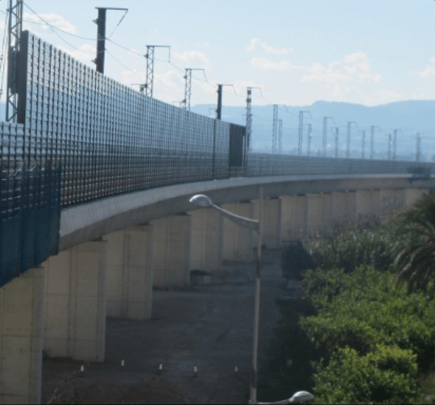 Équipement de sécurité routière dans infrastructures de AVE