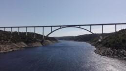 Viaducto sobre el río Tajo - Proyecto Seguridad Vial