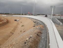 Barandilla M001 en proyecto seguridad vial