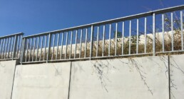 Railing S8 - Pedestrian containment systems