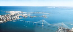 Proyecto en el puente de la Bahía de Cádiz - Metalesa Seguridad vial