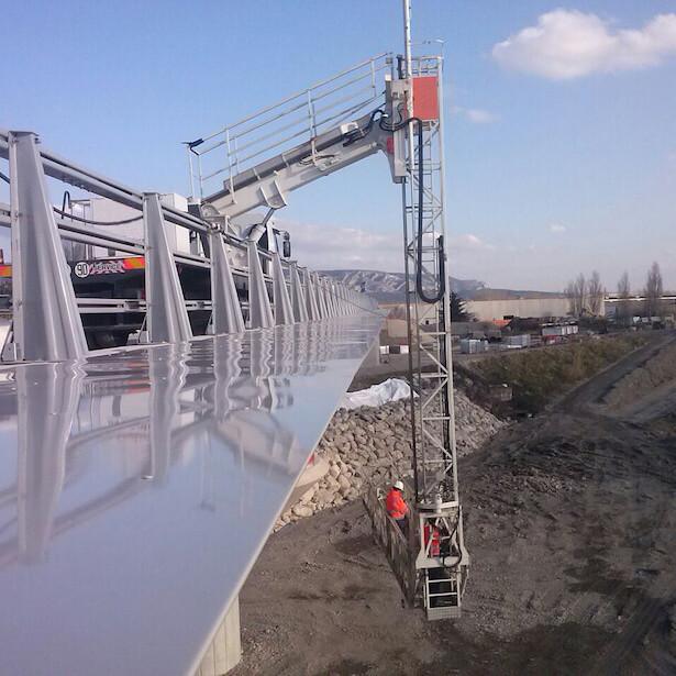 Proyecto Viaduct de Cavaillon - Metalesa equipamiento seguridad Vial
