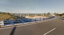 Proyecto UTE Enlace de Curro - Barreras de seguridad vial en METALESA