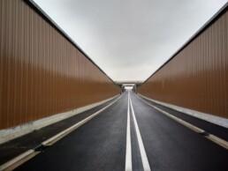 Installation revetement acoustique de mur Metalesa
