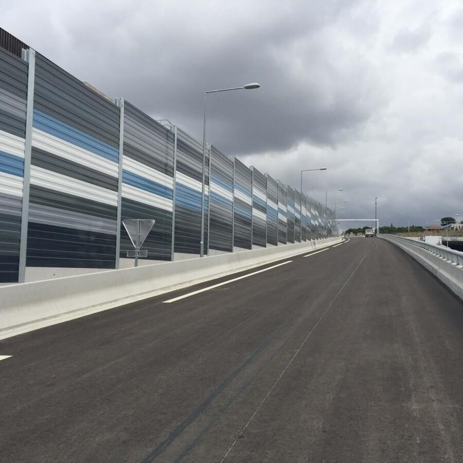 METALESA - Steel acoustic screens - L2 Marseille