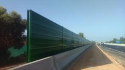 METALESA - Aluminum acoustic screens MA13 Mallorca