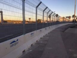 METALESA - Valencia Port electrowelded metal fences