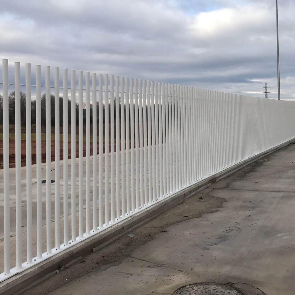 METALESA - Metal fences project in Burgos