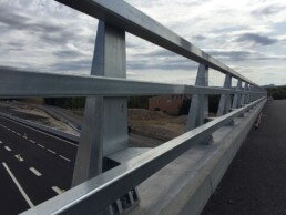 META 13 metal railing - Road Safety Projects