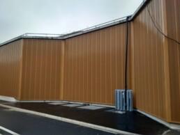 Projet avec revetement acoustique de mur beton