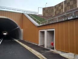 Revetement acoustique de mur beton Metalesa