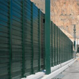 Proyecto AVE San Isidro-Orihuela tramo - Metalesa servicios acústicos